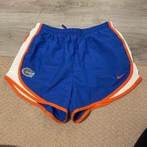 NWOT Florida gators Nike dri-fit running shorts